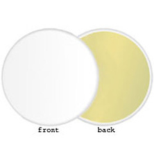 Soft Gold/White Reversible LiteDisc 12