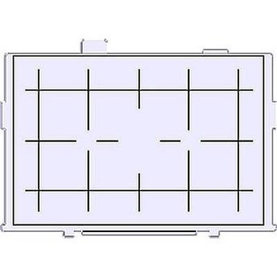 Precision Matte Grid Lines Eg-D Interchangeable Focusing Screen Image 0
