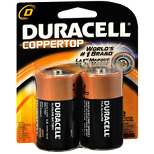 D Cell Coppertop Alkaline Batteries (2 Pack) Image 0