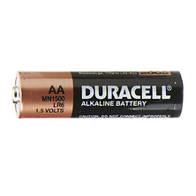AA 1.5V Alkaline Coppertop Batteries (4 Pack) Image 0