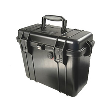 1430 Toploader Watertight Hard Case with Foam Insert (Black) Image 0