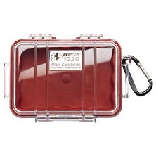 1020 Micro Hard Case (Clear Red) Image 0