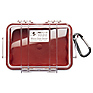 1020 Micro Hard Case (Clear Red)