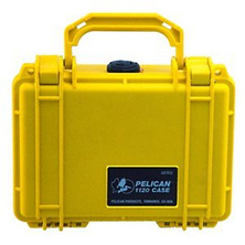 1120 Case with Foam (Yellow) Image 0