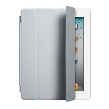 iPad 2 Polyurethane Smart Cover (Light Gray) Image 0