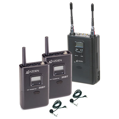 330ULT Dual-Channel UHF Twin Bodypack System Image 0