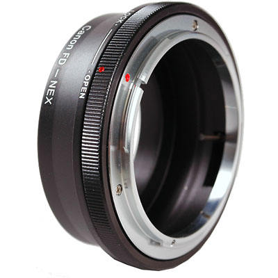 NEX Adapter for Canon FD Lenses Image 0