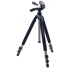 Pro 500DX Tripod with 3-Way Pan/Tilt Head Image 0