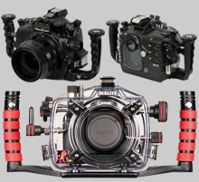Underwater DSLR Housings