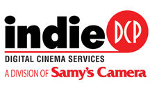 Indie DCP - Post Production and Digital Cinema Services Logo