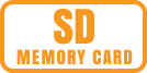 Memory card type used by camera.