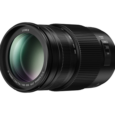 100-300mm, F4.0-5.6 II, Lumix G Vario Lens for Mirrorless Micro Four Thirds Mount Image 0