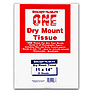 11x14 Dry Mount Tissue, 25 Sheets