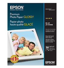 Premium Photo Paper Glossy, 8.5 X 11 in. - 50 Sheets Image 0