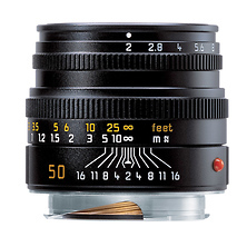 50mm f/2.0 Summicron M Manual Focus Lens (Black) Image 0