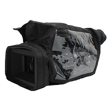 QS-M4 Quick Slick Rain Cover - Black Image 0