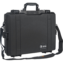 1495 Laptop Computer Case with Foam (Black) Image 0