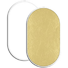 Soft Gold/White Reversible LiteDisc 41 x 74