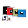 Fabric Frame Bi-Directional Memo 2-Up Photo Album (Assorted Colors)