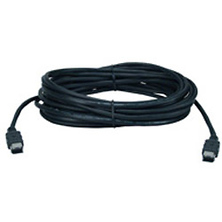 25ft. FireWire IEEE 1394 / i.Link 6Pin to 6Pin Black Cable Image 0