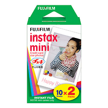 Instax Mini Instant Color Print Film (Twin Pack) (ISO 800) Image 0