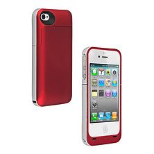 Juice Pack Air Case for iPhone 4 - Red Image 0