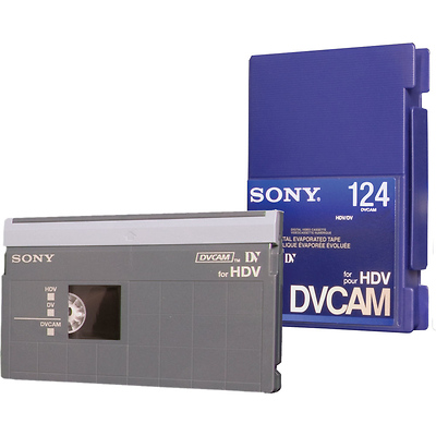 PDV-124N/3 DVCAM for HDV Tape Image 0