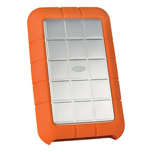 500GB Rugged Triple Interface USB 3.0 Portable Hard Drive - Open Box Image 0