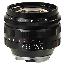 Nokton 50mm f/1.1 Lens (Black) Image 0
