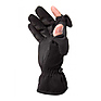 Ladies Stretch Gloves - Black, Small