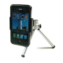 Smartphone Clip with Mini Tripod Image 0