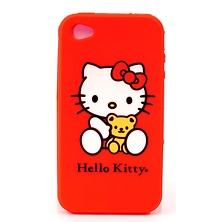 Hello Kitty Silicone Case - iPhone 4 Image 0