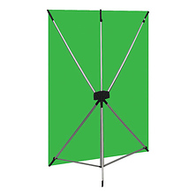 X-Drop Kit (5 x 7 ft., Green Screen) Image 0