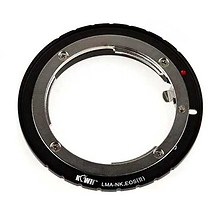 Camera Mount Adapter for Nikon F-Mount to Canon EOS Image 0