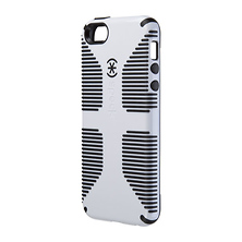 CandyShell Grip for iPhone 5 - White & Black Image 0