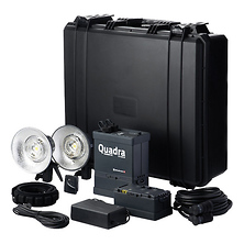 Ranger Quadra Hybrid RX Lead-Gel Battery 2-Light Pro A Kit Image 0
