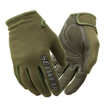 Stealth Touch Screen Friendly Design Glove (Green, Large) Image 0