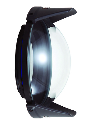 Compact Dome Port for Wide Angle Lenses Image 0