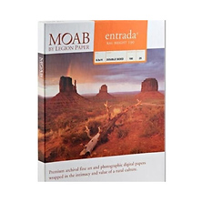 Entrada Rag Bright 190 Matte Paper 4x6 in. (50 Sheets) Image 0