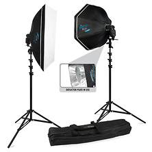 Rapid Box 2 Light Kit with Deflector Plate Image 0