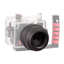 60mm Flat Port for Canon EOS Rebel SL1 Underwater Housing Image 0