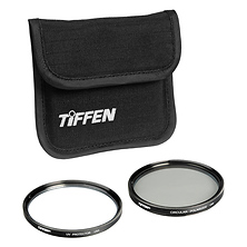 77mm Photo Twin Pack (UV Protection and Circular Polarizing Filter) Image 0