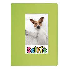 Selfie Photo Album for Instax Photos - Small (Lime Green) Image 0