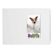 Selfie Photo Album for Instax Photos - Large (White) Image 0