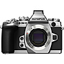OM-D E-M1 Micro Four Thirds Digital Camera Body - Silver (Open Box)