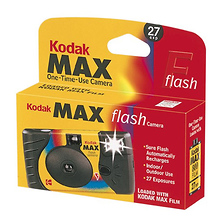 MAX Single Use 35mm Film Camera With Power Flash Image 0