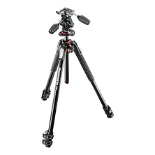 MK190XPRO3-3W Aluminum Tripod with 3-Way Pan/Tilt Head Image 0