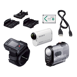 Sony HDR-AS200VR POV Action Cam With Live-View Remote Bundle Image