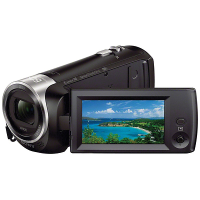 HDR-CX440 HD Handycam Camcorder with 8GB Internal Memory Image 0