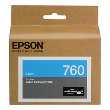 T760 Cyan Ultrachrome HD Ink Cartridge Image 0